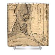 Cape Florida 1765 Shower Curtain