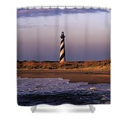 Cape Hatteras Lighthouse At Sunrise - Fs000606 Shower Curtain