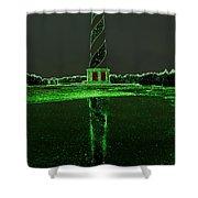 Cape Hatteras Lighthouse Green 6 21216 Shower Curtain