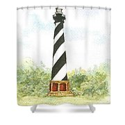 Cape Hatteras Lighthouse Shower Curtain