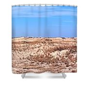 Cape Henlopen Panorama Shower Curtain