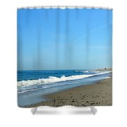 Cape Isolation Shower Curtain