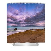 Cape Kiwanda Sunrise Shower Curtain