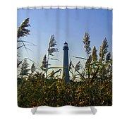 Cape May Light Autumn Shower Curtain