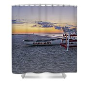 Cape May Mornings Shower Curtain