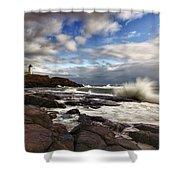 Cape Neddick Maine Shower Curtain