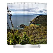 Cape Reinga North Island New Zealand Shower Curtain