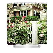 Cape Roses Shower Curtain