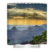 Cape Royal Crepuscular Rays Shower Curtain