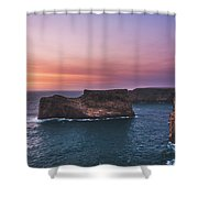Cape Sagres Viewpoint Shower Curtain