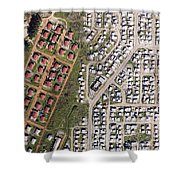 Cape Town Is Booming In All Directions Shower Curtain