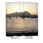 Cape Verde Sunset Shower Curtain