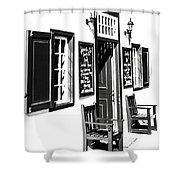 Cape-welcome Shower Curtain