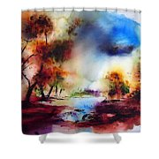 Capel Curig Shower Curtain