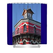 Capetown Clock Tower Shower Curtain