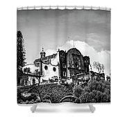 Capilla Del Cerrito - Basilica De Guadalupe - Mexico City I Shower Curtain