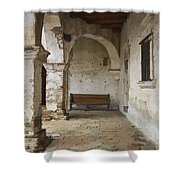 Capistrano Bench Shower Curtain