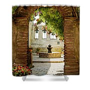 Capistrano Gate Shower Curtain
