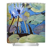 Capistrano Lillies Shower Curtain