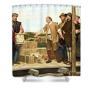 Capital And Labour Shower Curtain