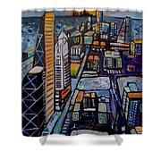 Capital City Shower Curtain