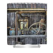 Capital Quarry Cutting Shed Shower Curtain