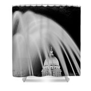 Capital Stained Shower Curtain