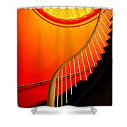 Capital Stairs Shower Curtain