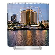 Capitan Miranda In Tampa Shower Curtain