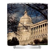 Capitol Building Shower Curtain