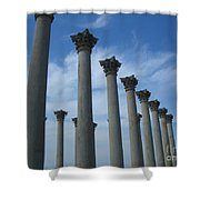 Capitol Columns Shower Curtain