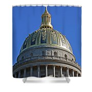 Capitol Dome Charleston Wv Shower Curtain