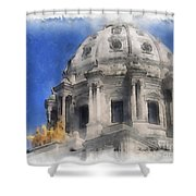 Capitol Dome St Paul Minnesota Shower Curtain