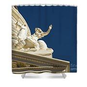 Capitol Frieze Sculpture Shower Curtain