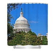 Capitol Gains Shower Curtain