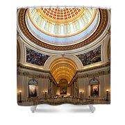 Capitol Interior II Shower Curtain