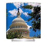 Capitol Of The United States Shower Curtain