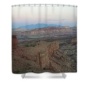 Capitol Reef 0716 Shower Curtain