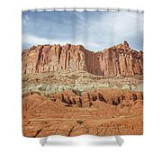 Capitol Reef 3 Shower Curtain