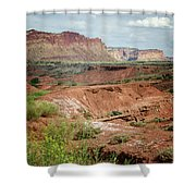 Capitol Reef 4 Shower Curtain
