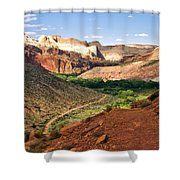 Capitol Reef 8 Shower Curtain