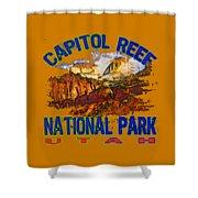 Capitol Reef National Park Utah Shower Curtain