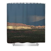 Capitol Reef Storm 0050 Shower Curtain