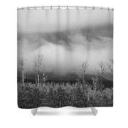 Capitol Reef Storm 0186 Shower Curtain