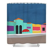 Capitola Venetian- Art By Linda Woods Shower Curtain