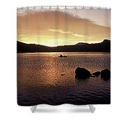 Caples Lake Shower Curtain