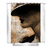 Capones Girl Shower Curtain