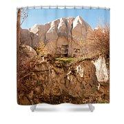 Cappadocia Dovecotes Shower Curtain