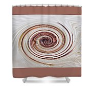 Cappucchino Whip Shower Curtain