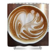 Cappuccino 2 Shower Curtain